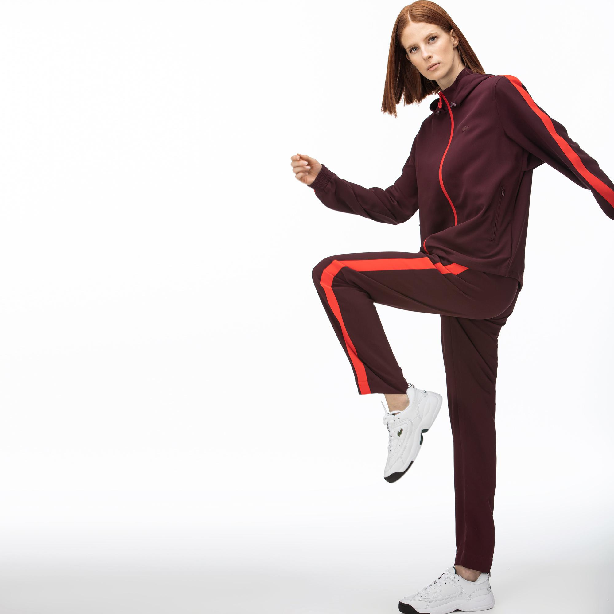 Lacoste Women's Contrast Band Trackpants