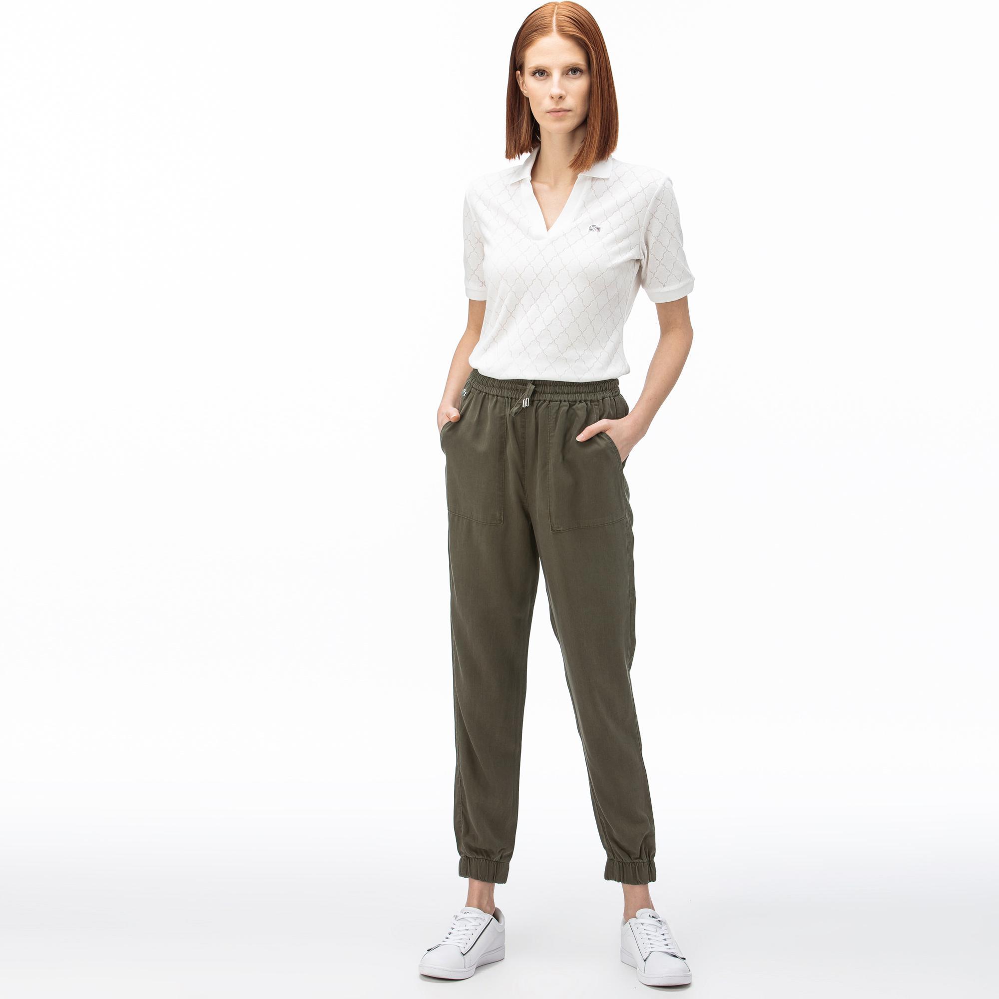 Lacoste Women's Denim Trousers
