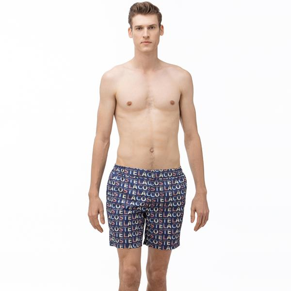 Lacoste Men's Graphic Swimming Shorts