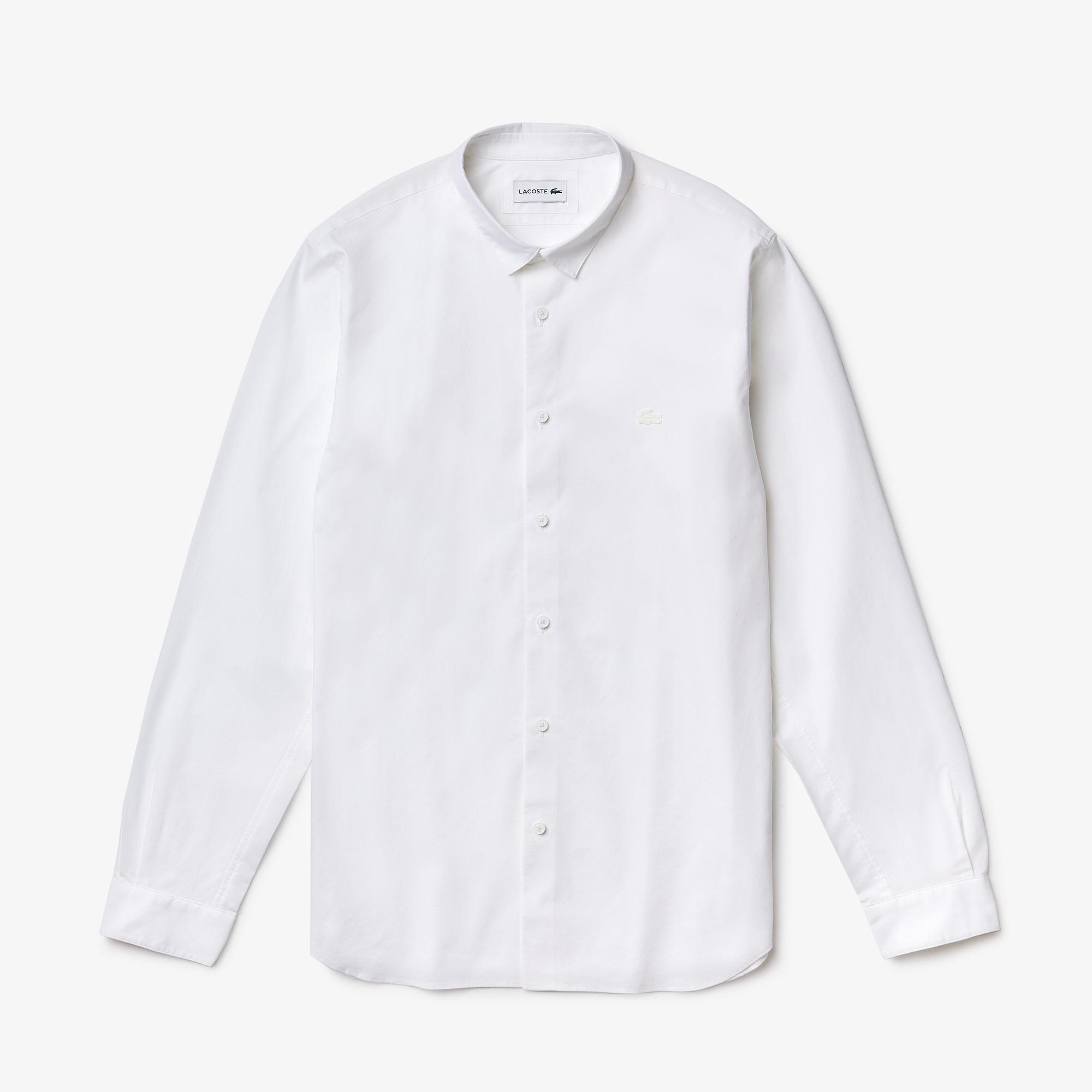 Lacoste Men's Motion Breathable Stretch Cotton Shirt