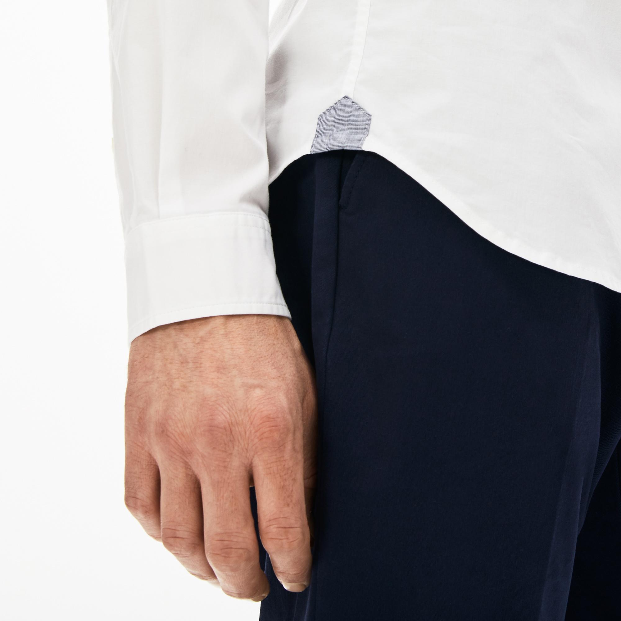 Lacoste Men's Soft Cotton Poplin Shirt