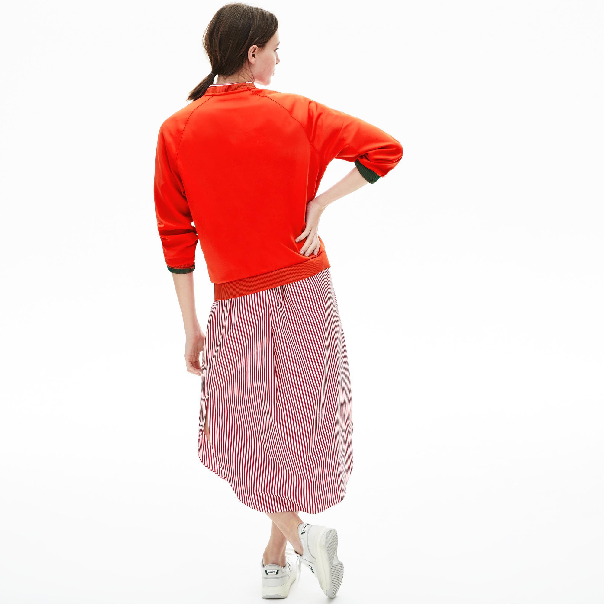 Lacoste Women's Classic Crew Neck Sweatshirt