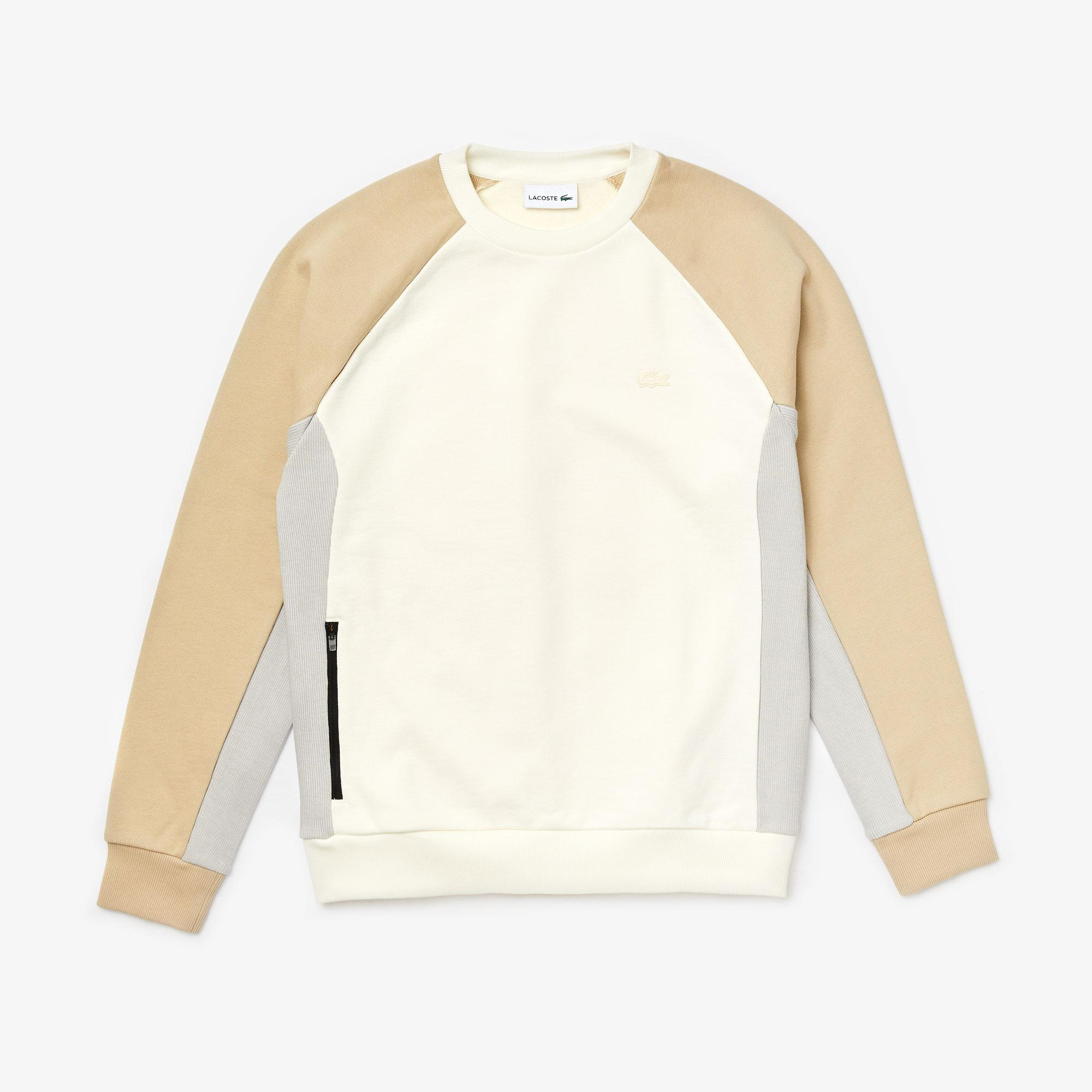 Lacoste Men's Motion Colourblock Crew Neck Sweatshirt