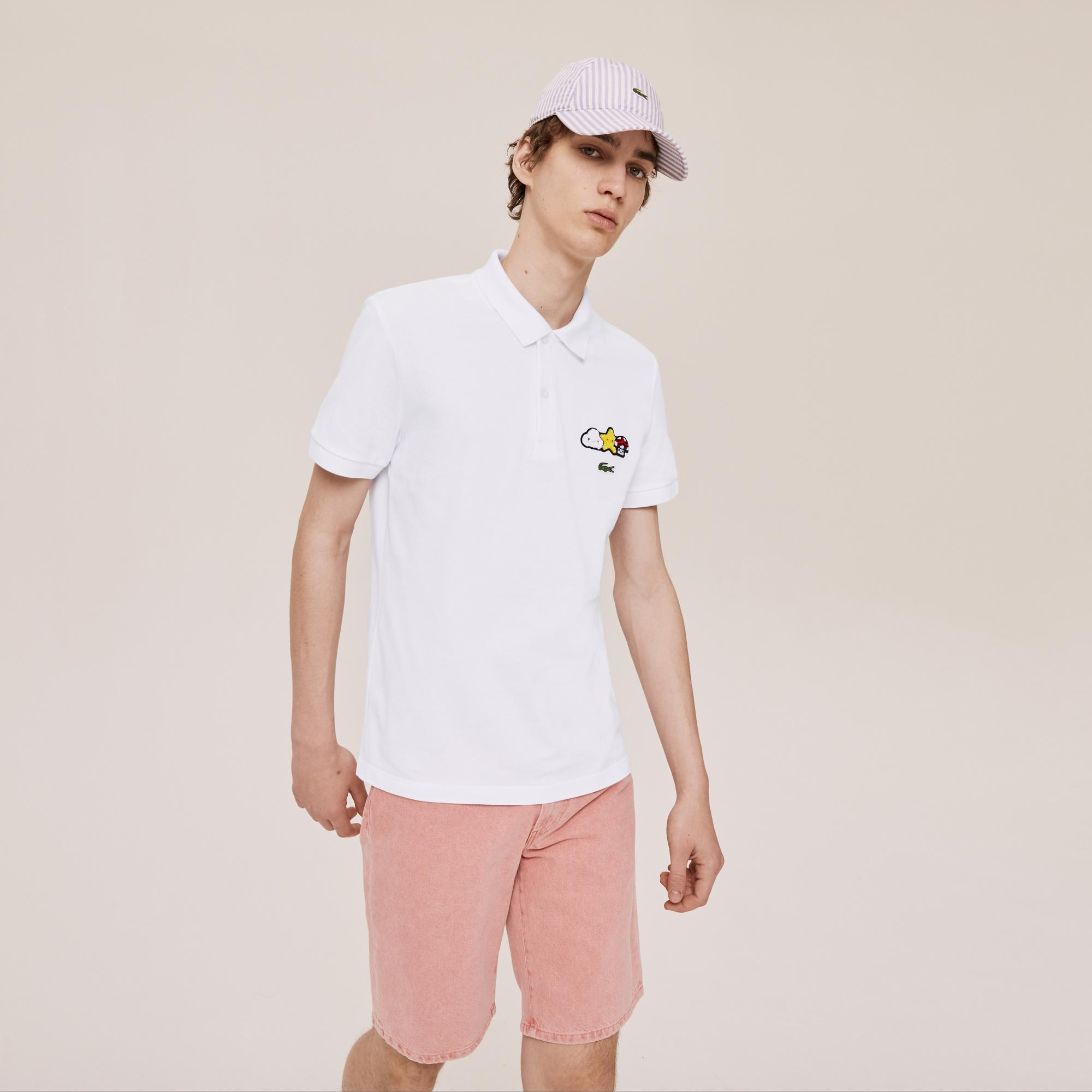 Lacoste Unisex x FriendsWithYou Design Classic Fit Polo Shirt