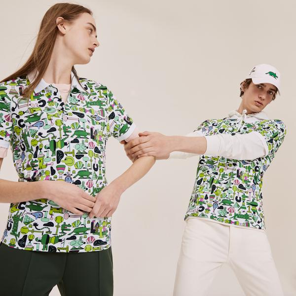 Lacoste Men's Graphic Polo