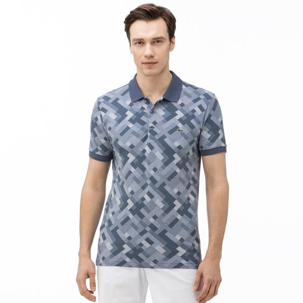 Lacoste Men's Slim Fit Graphic Polo