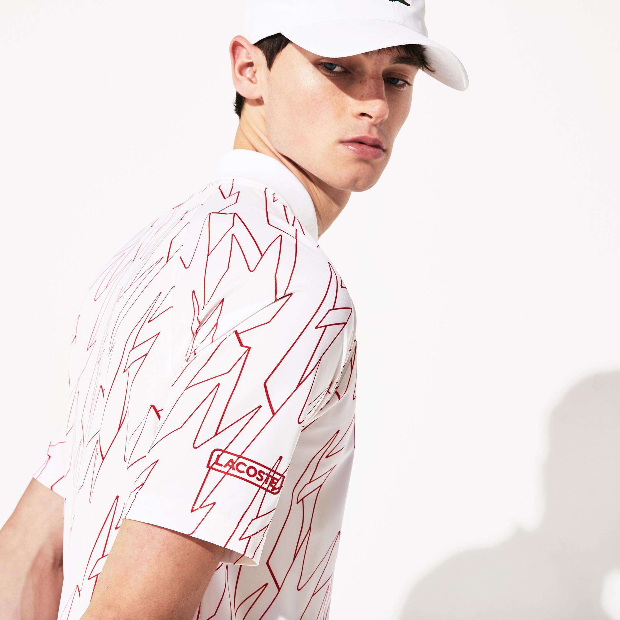 Lacoste Men's Sport Graphic Sport Polo