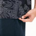 Lacoste Men's Hawaiian Fit Print Poplin Shirt