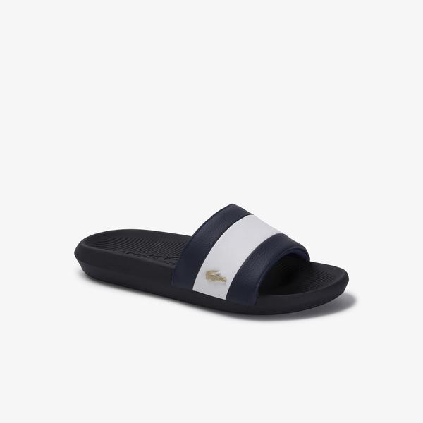 Lacoste Women's Croco Slide 120 3 Us Cfa Slippers