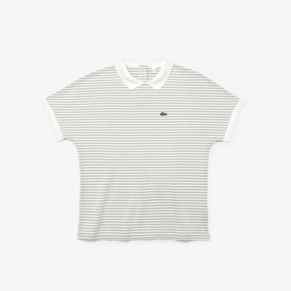 Lacoste Women's Striped Polo