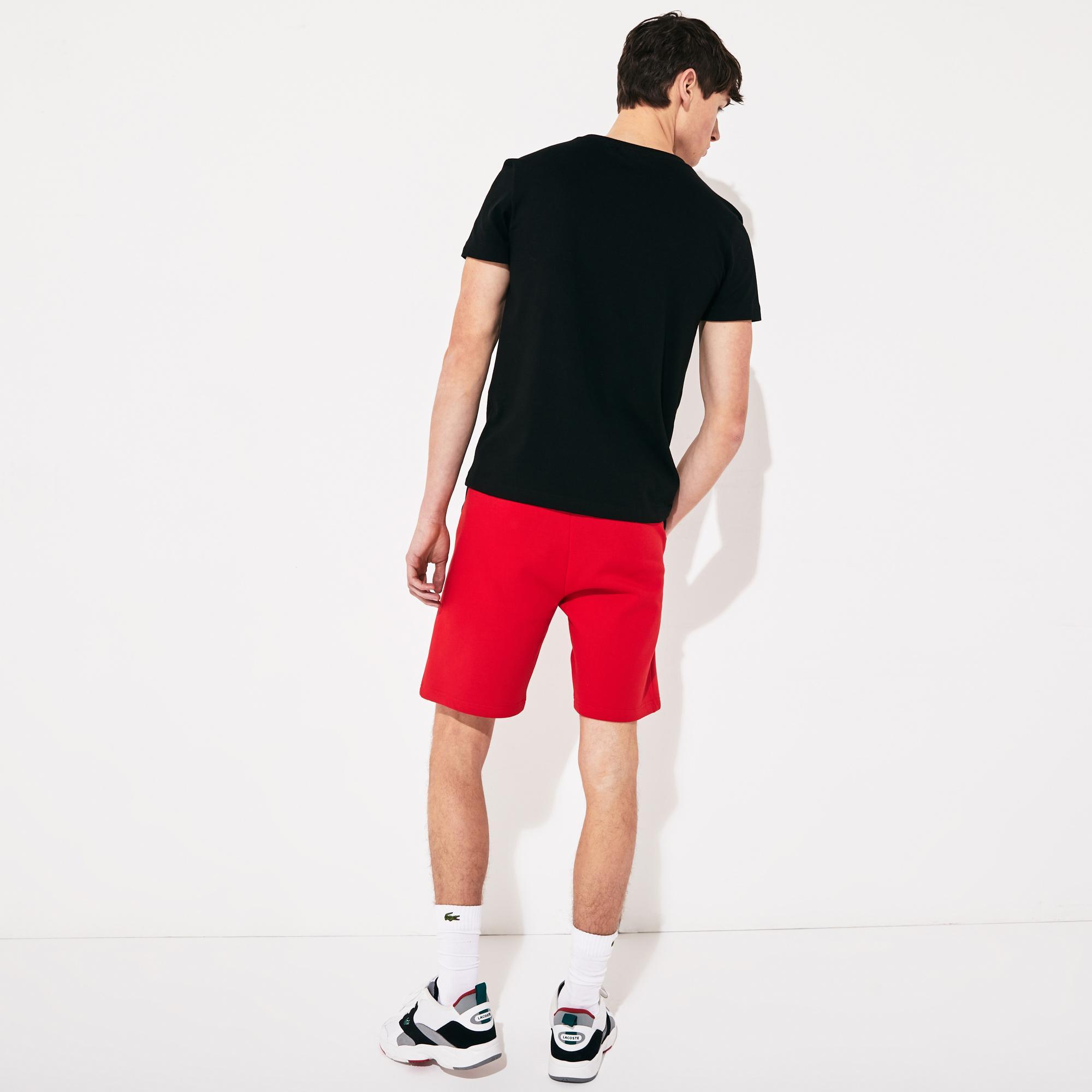 Lacoste Men's Sport Print Cotton Blend T-Shirt