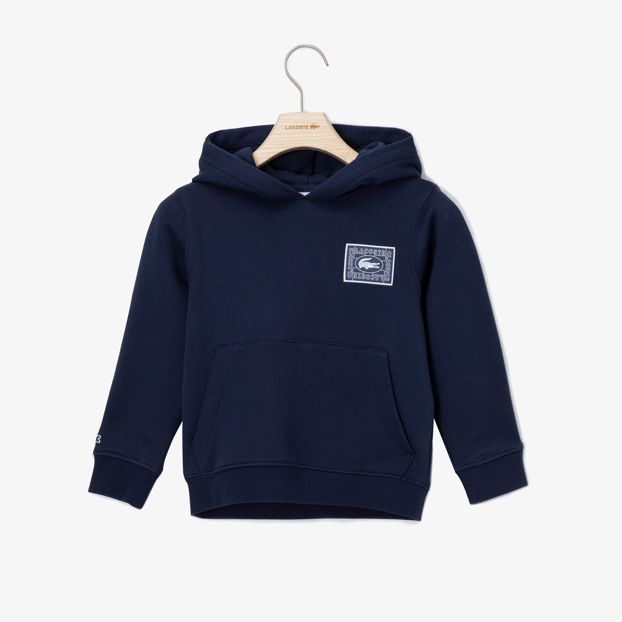 Lacoste Kids' Graphic Hooded Sweater