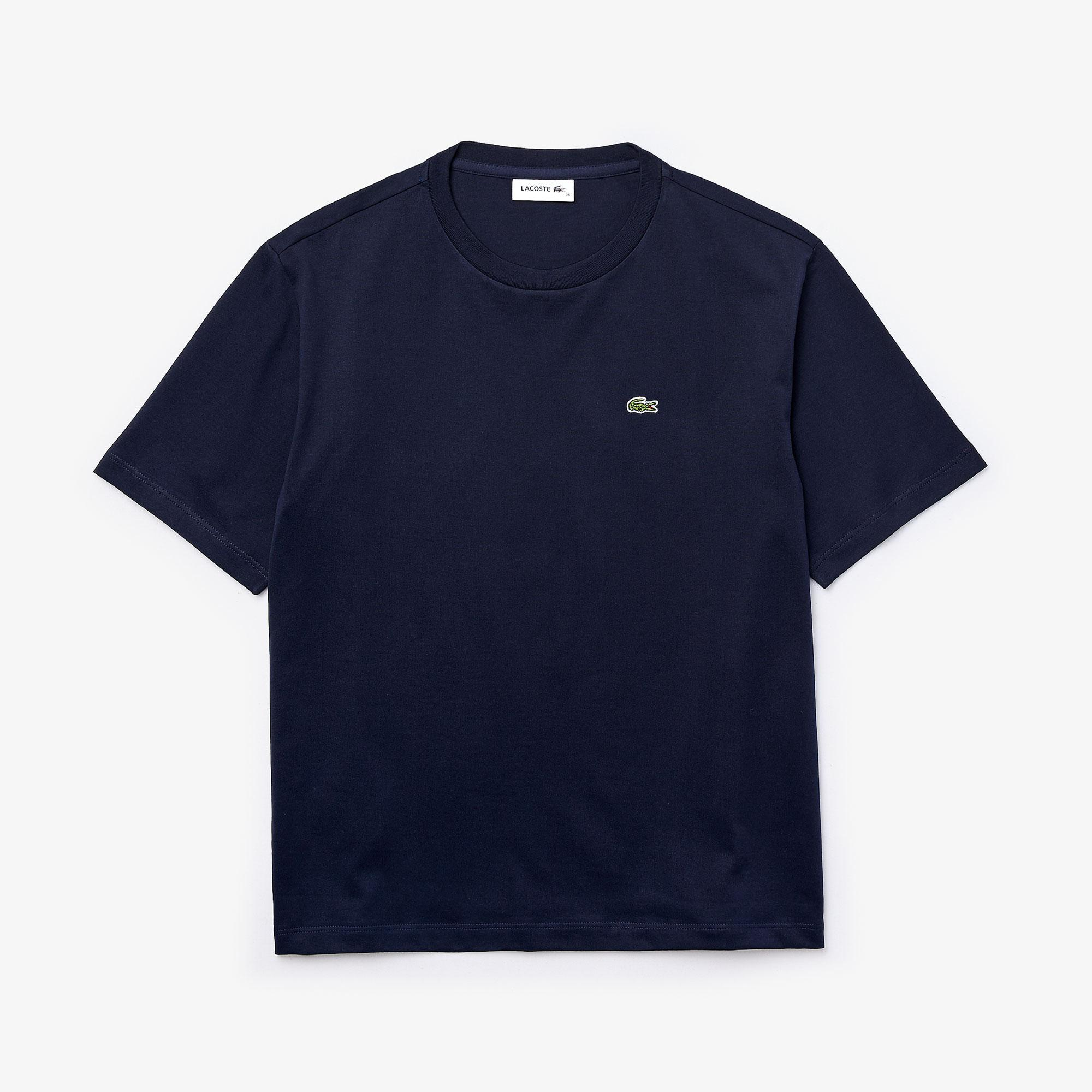 Lacoste Women's Crew Neck Premium Cotton T-Shirt