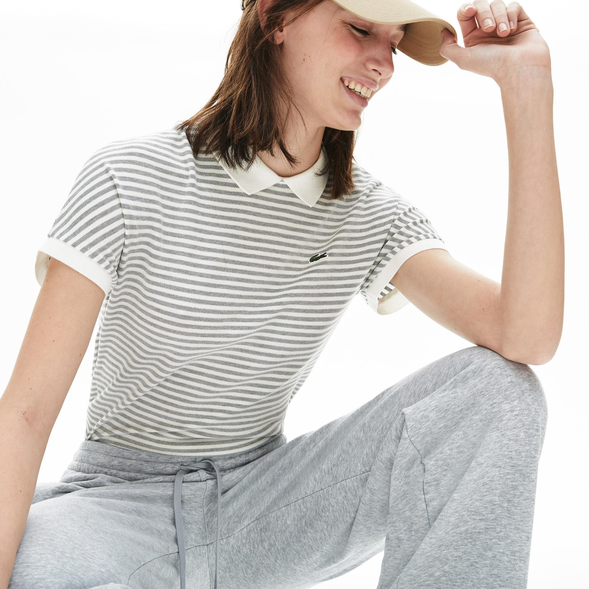 Lacoste Women's Striped Polo