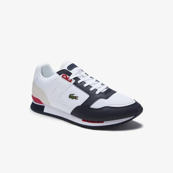 Lacoste Men's Partner Pıste 01201 SMA Sneakers