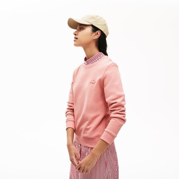 Lacoste Women's LIVE Cotton Fleece Sweatshirt