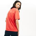 Lacoste Women's Crew Neck Premium Cotton T-Shirt