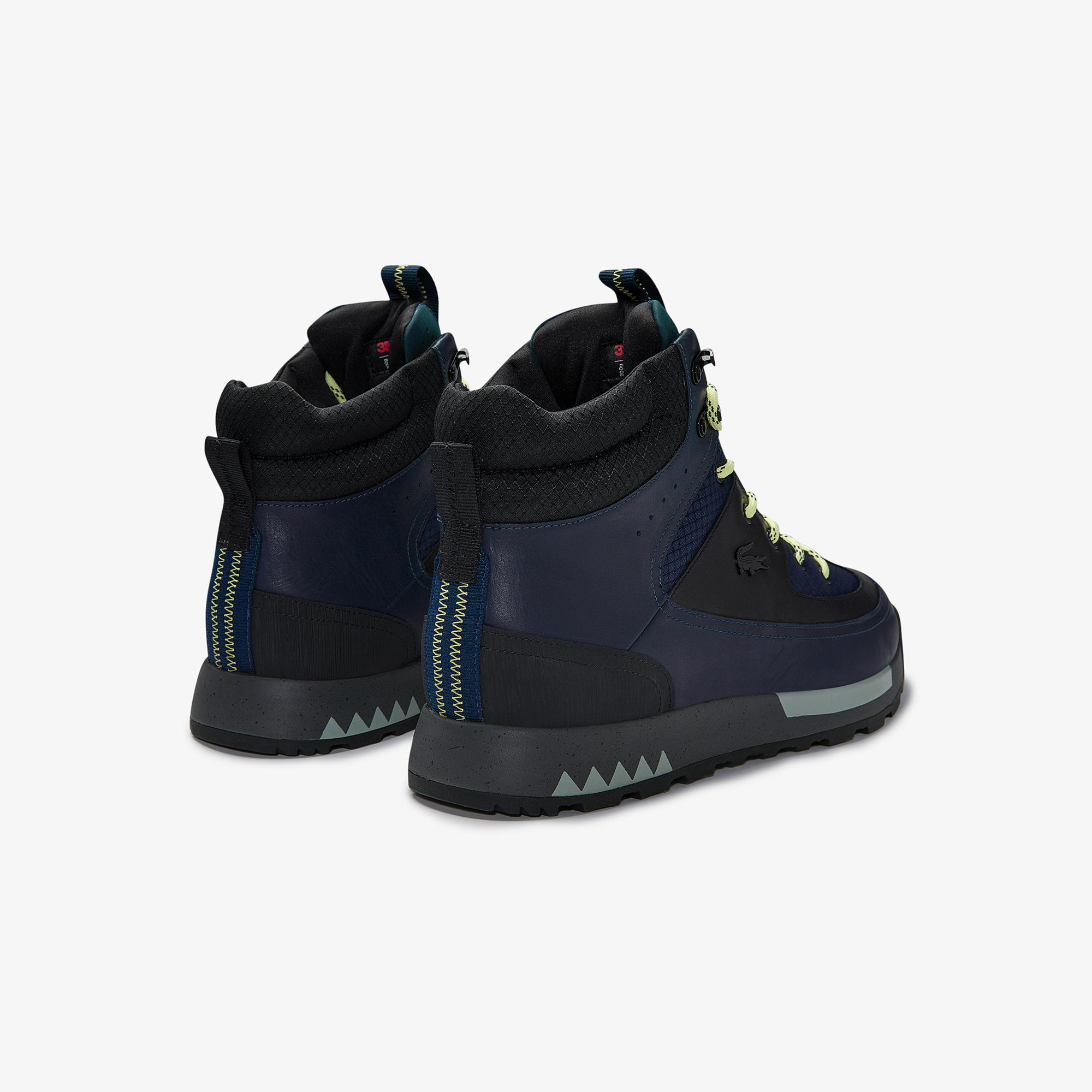 Lacoste Men's Urban Breaker Leather and Textile Boots