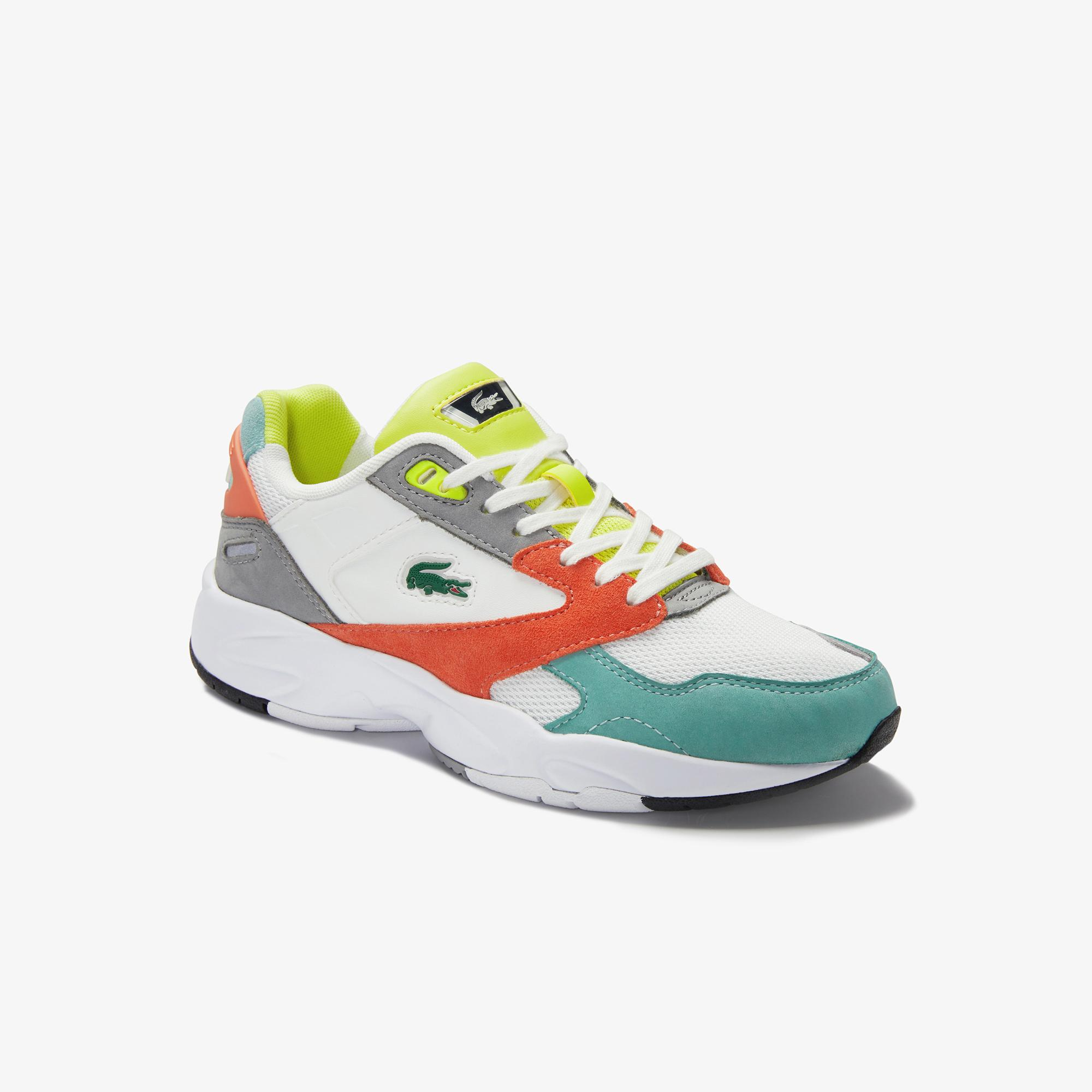 Lacoste Women's Storm 96 Mesh and Leather Sneakers