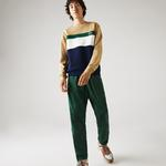 Lacoste Men's Colorblock Fleece Crew Neck Sweatshirt