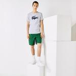 Lacoste Men's SPORT 3D Print Crocodile Breathable Jersey T-shirt