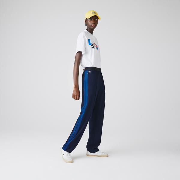 Lacoste Women's Twill Flared Pants