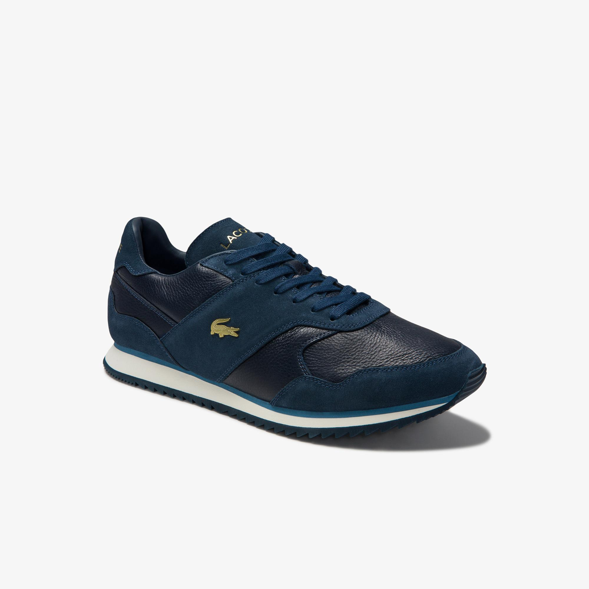 Lacoste Men's Aesthet Luxe Leather Sneakers