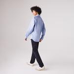Lacoste Men's Regular Fit Checkered Premium Cotton Shirt