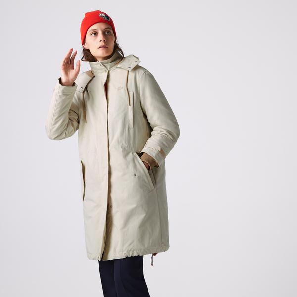 Lacoste Women's Quilted Interior Jacket Water-Resistant 3-İn-1 Parka