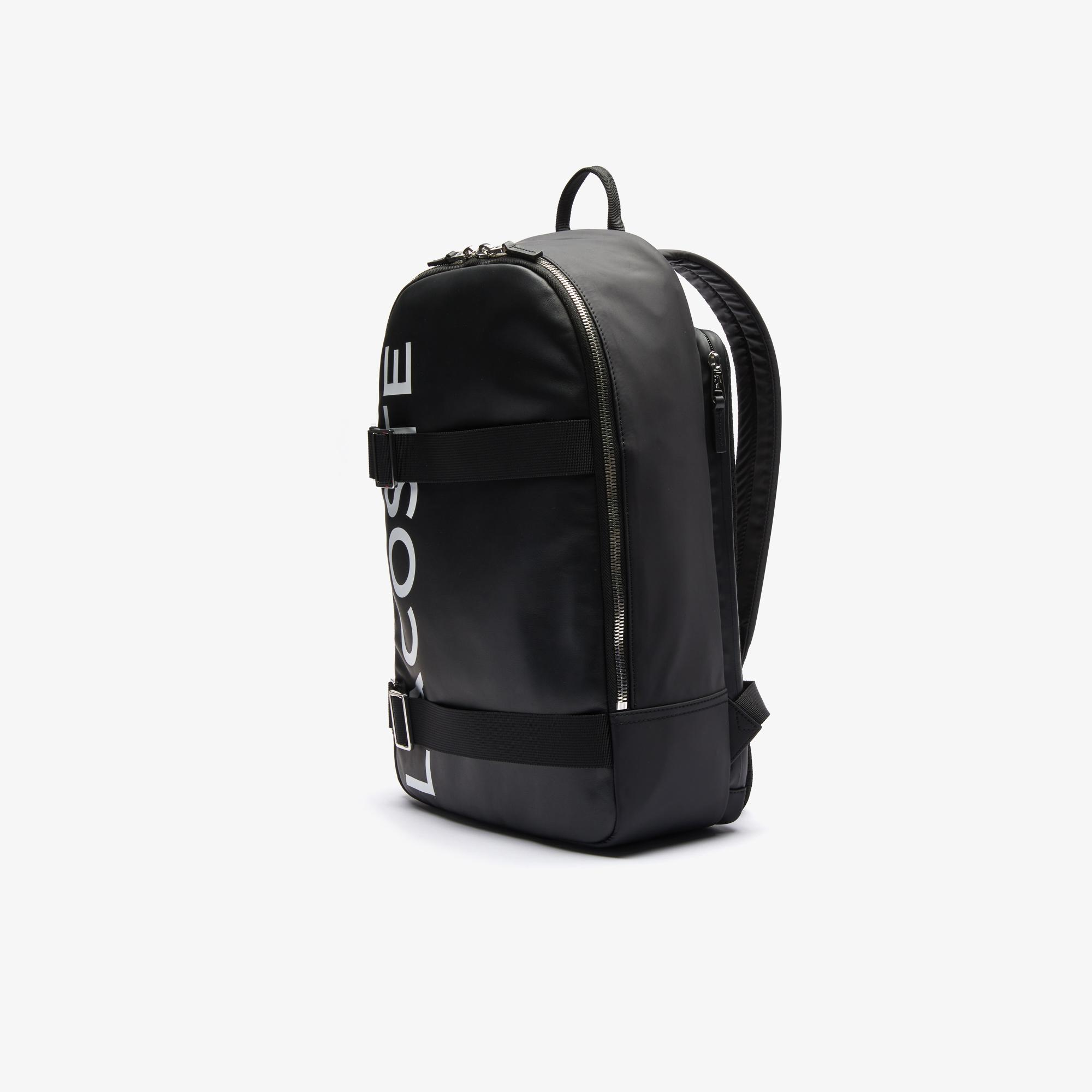 Lacoste Men's L.12.12 Branded And Strap Backpack