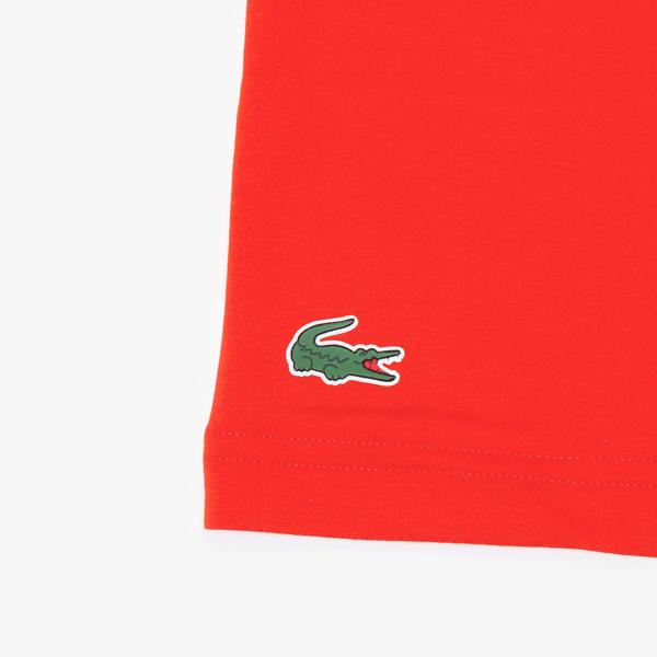 Lacoste Men's Sport Printed Breathable T-Shirt