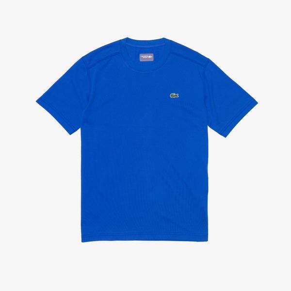 Lacoste Sport Men's Crew Neck Technical Cotton Tennis T-Shirt
