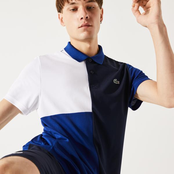 Lacoste Men's SPORT Freshness Technology Breathable Piqué Polo