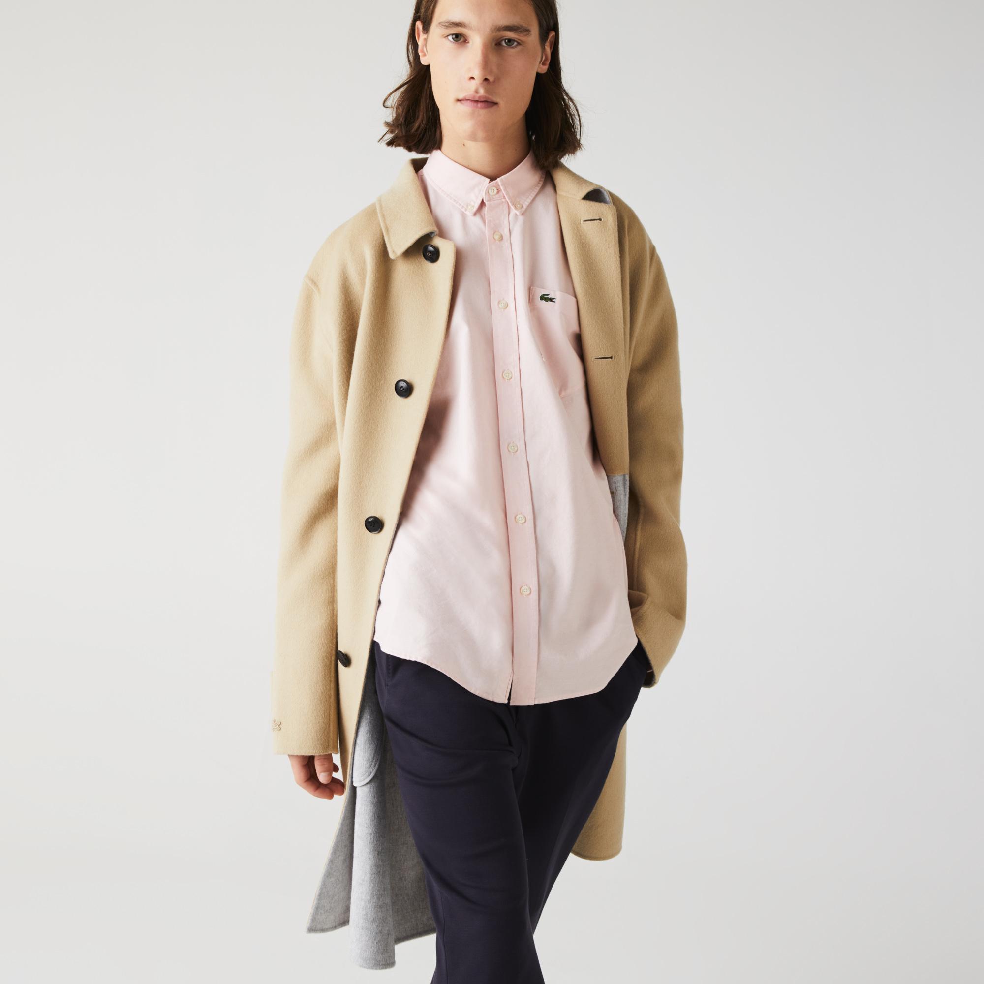 Lacoste Men's Regular Fit Cotton Oxford Shirt