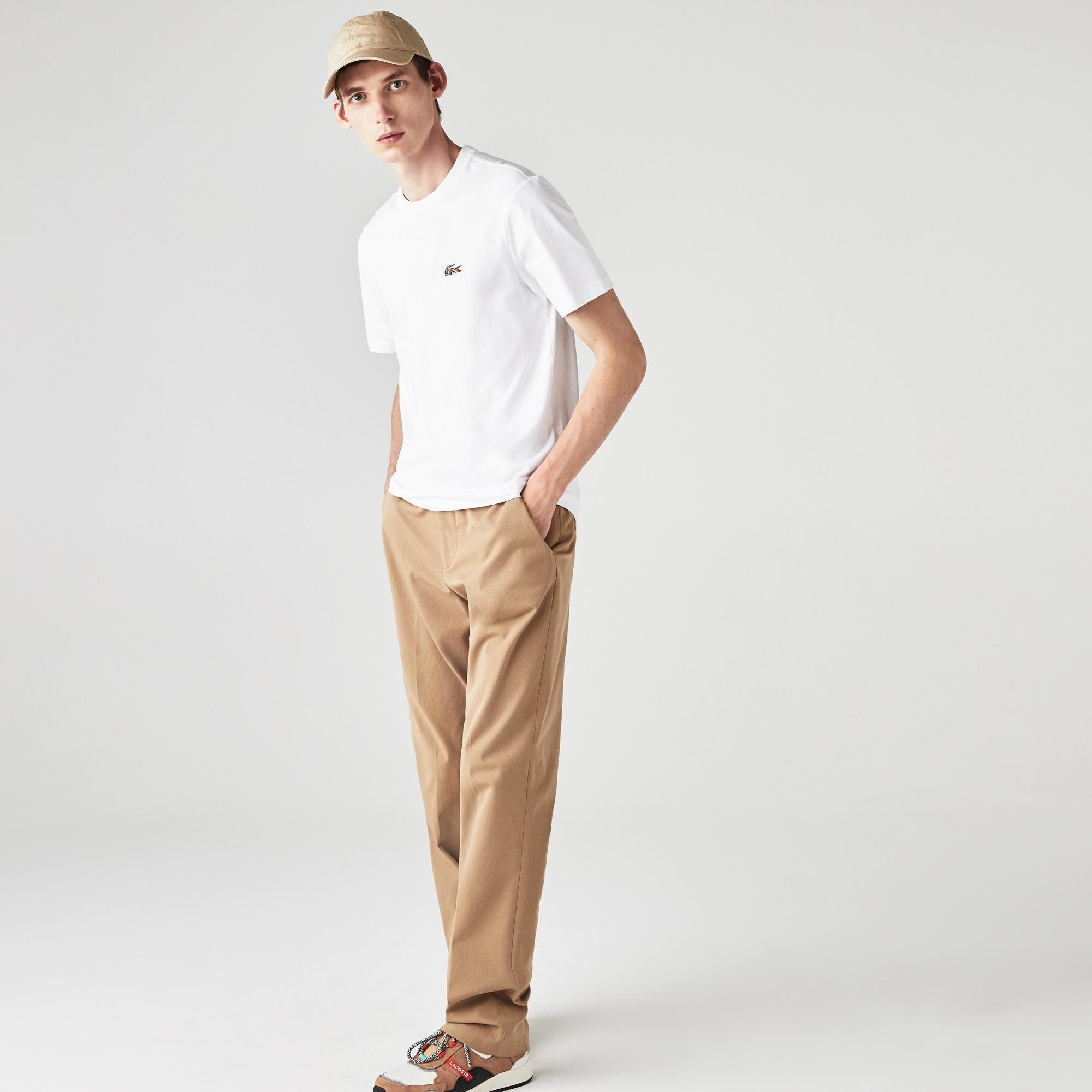 Lacoste Men's x National Geographic Organic Cotton T-shirt