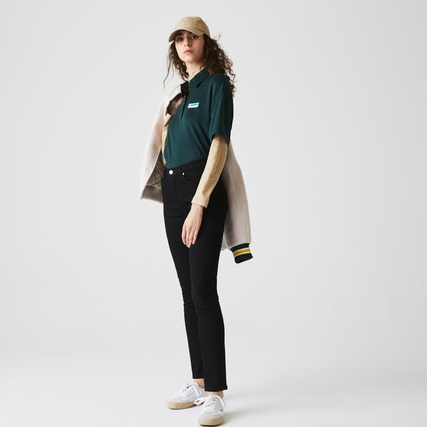 Lacoste Women's Skinny Stretch Cotton Jeans
