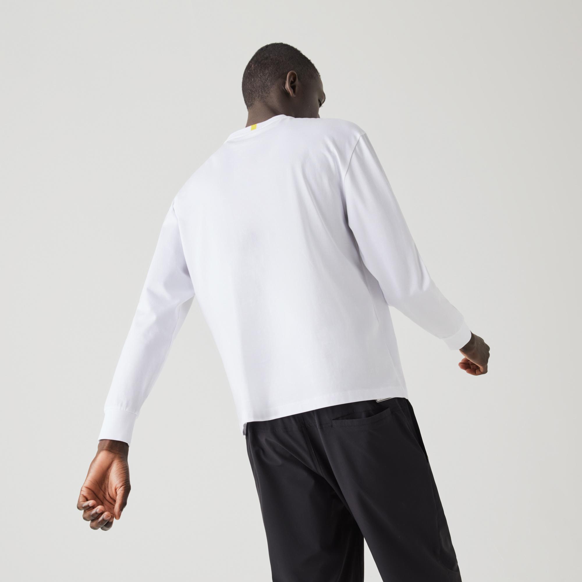 Lacoste Men's x National Geographic Cotton T-shirt