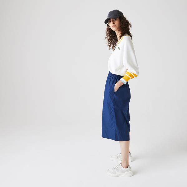 Lacoste Women's Light Cotton Poplin Culottes