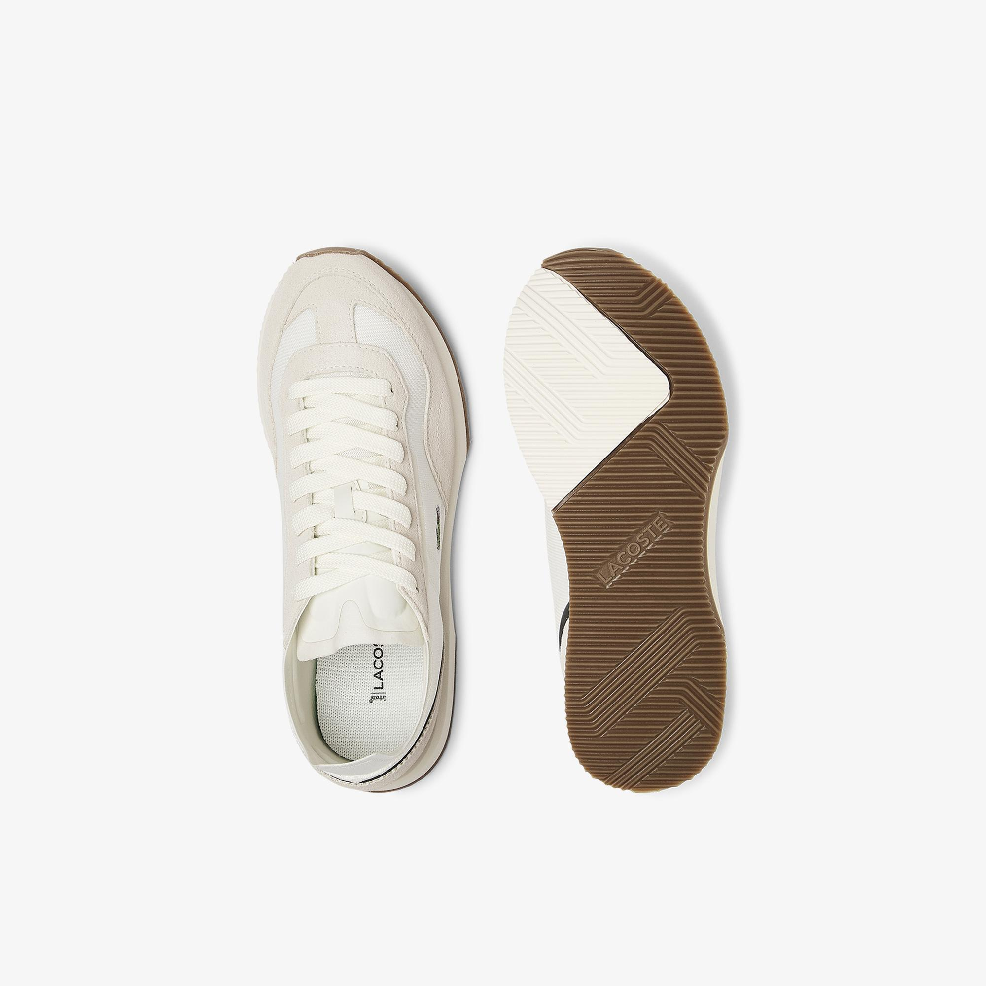 Lacoste Women's Match Break Textile and Suede Trainers
