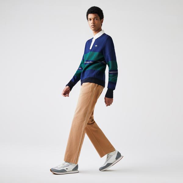 Lacoste Men's Lacoste LIVE Five-Pocket Chino Pants