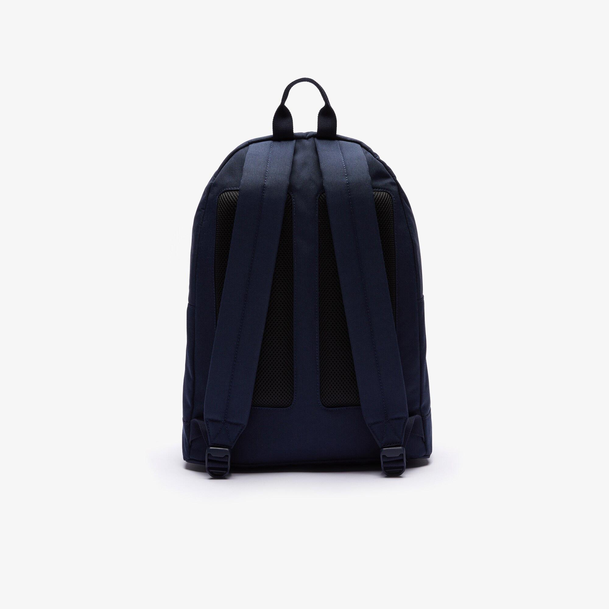 Lacoste Men's Neocroc L27 Lettered Canvas Backpack