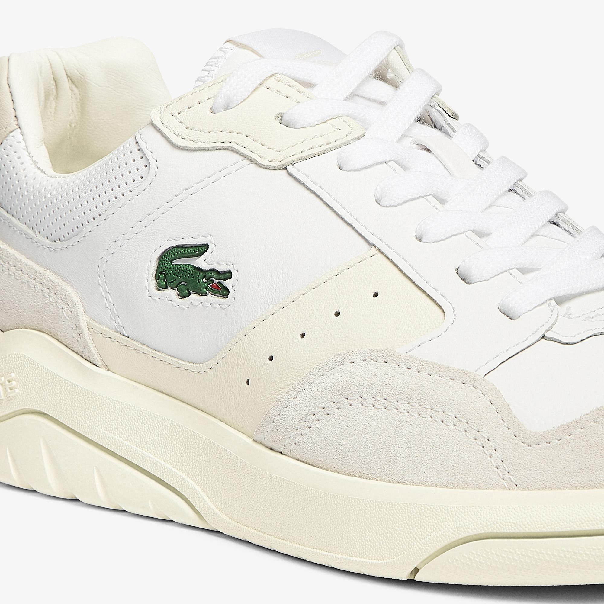 Lacoste Men's Game Advance Luxe Leather and Suede Trainers