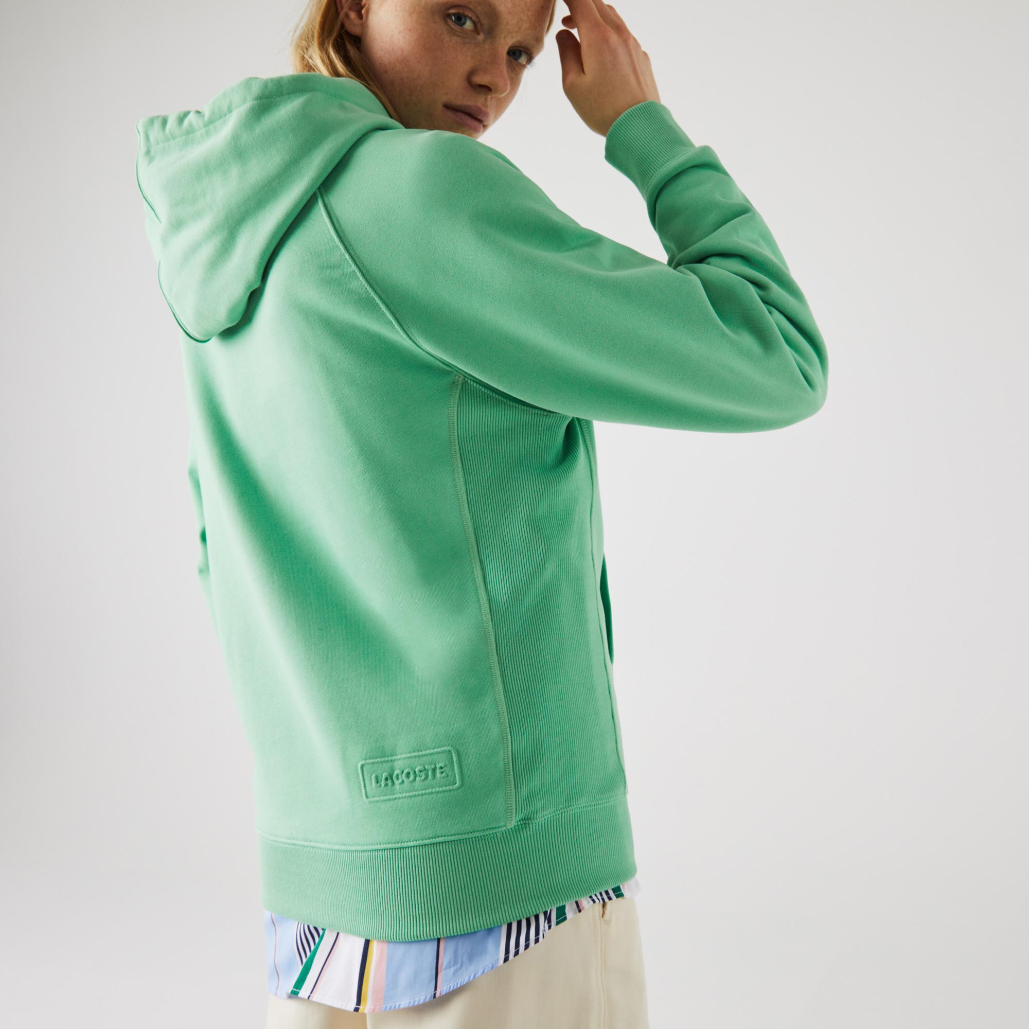 Lacoste L!VE Unisex Hooded Cotton Sweatshirt