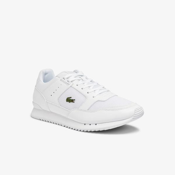 Lacoste Men's Partner Piste Textile Trainers
