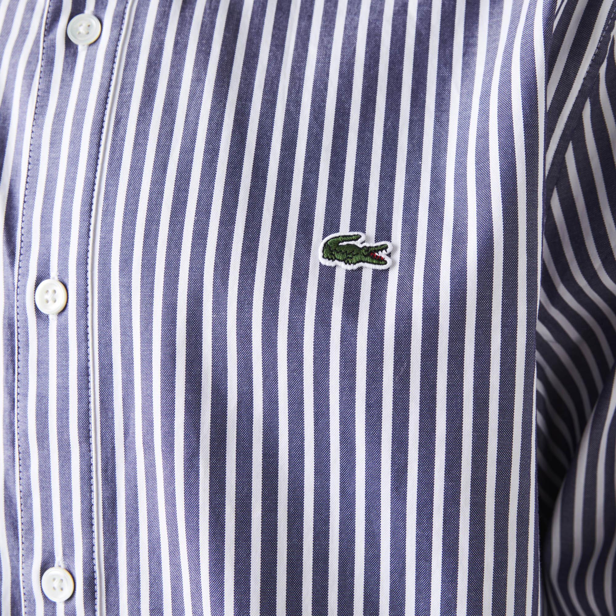 Lacoste Men's Regular Fit Striped Cotton Shirt