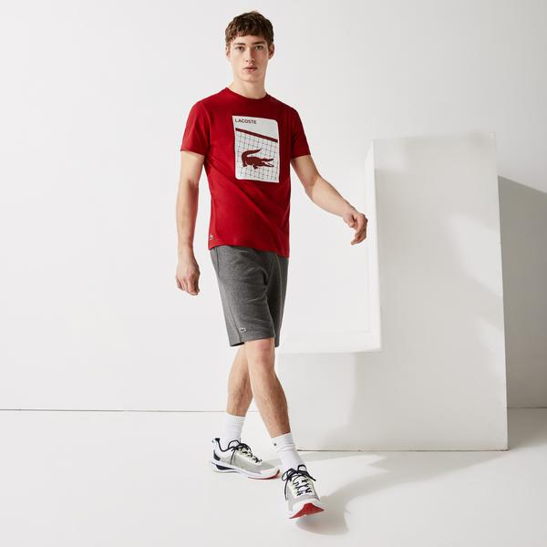 Lacoste SPORT Men's 3D Print Breathable T-shirt