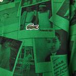 Lacoste Unisex LIVE x Polaroid Loose Fit Print Polo Shirt