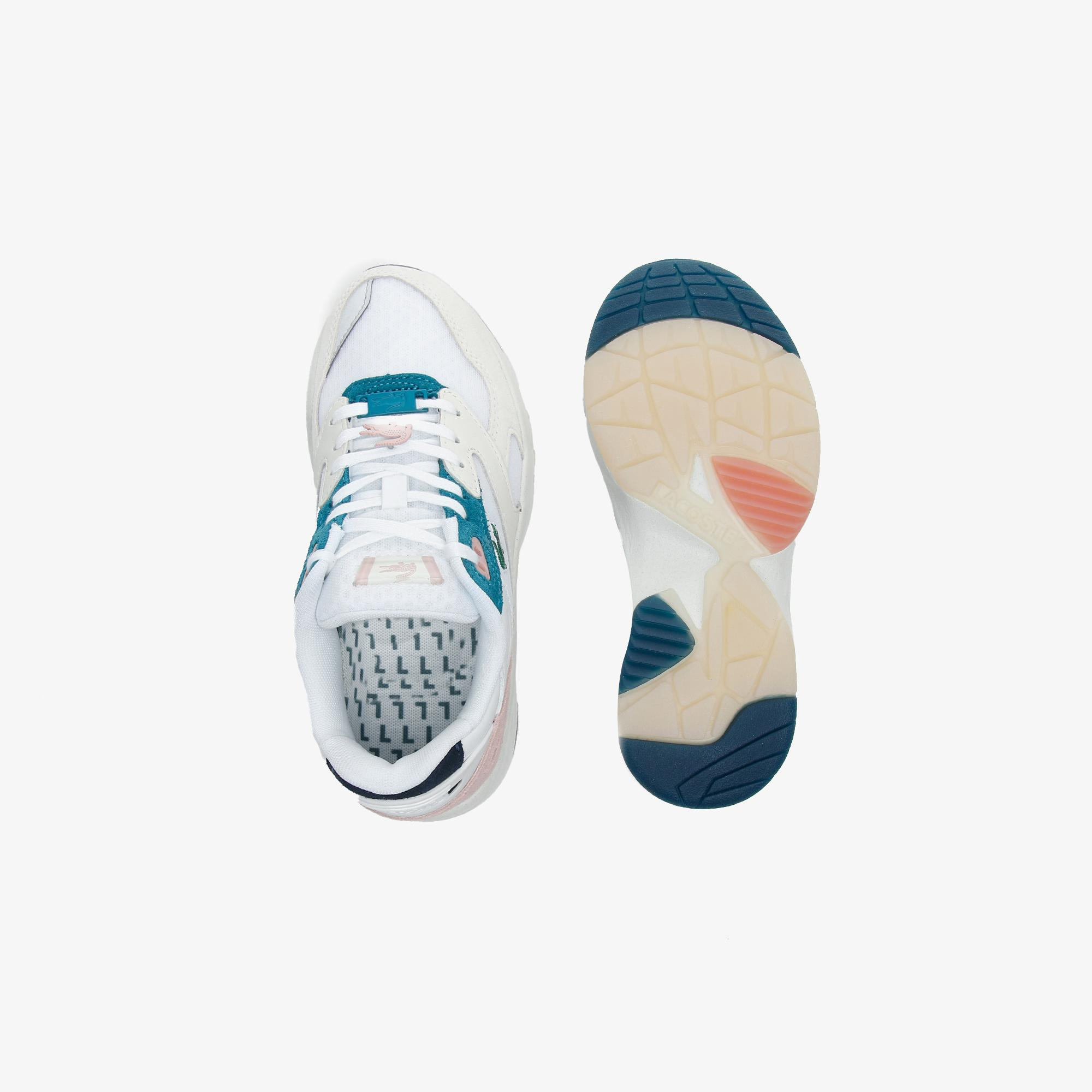Lacoste Women's Storm 96 Lo Textile, Suede and Synthetic Trainers