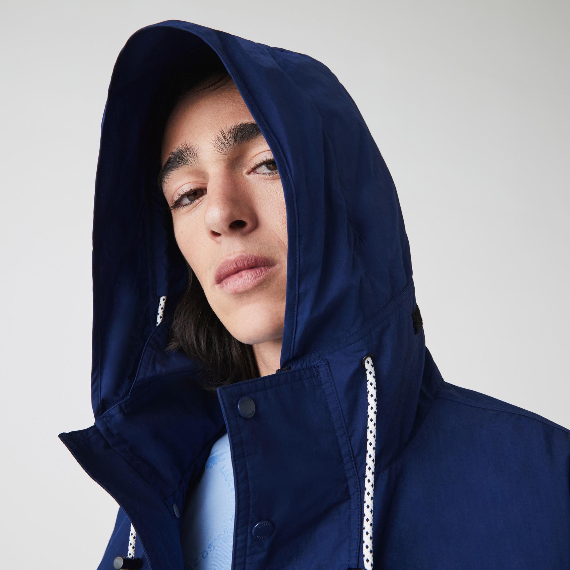 Lacoste Men's Ultra-Light Pockets Zip Summer Jacket