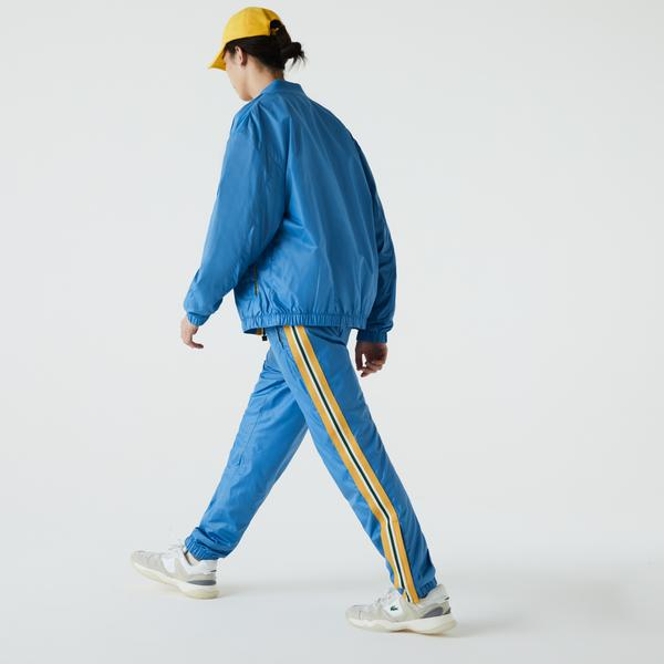 Lacoste Men's Heritage Water-Resistant Tracksuit Pants